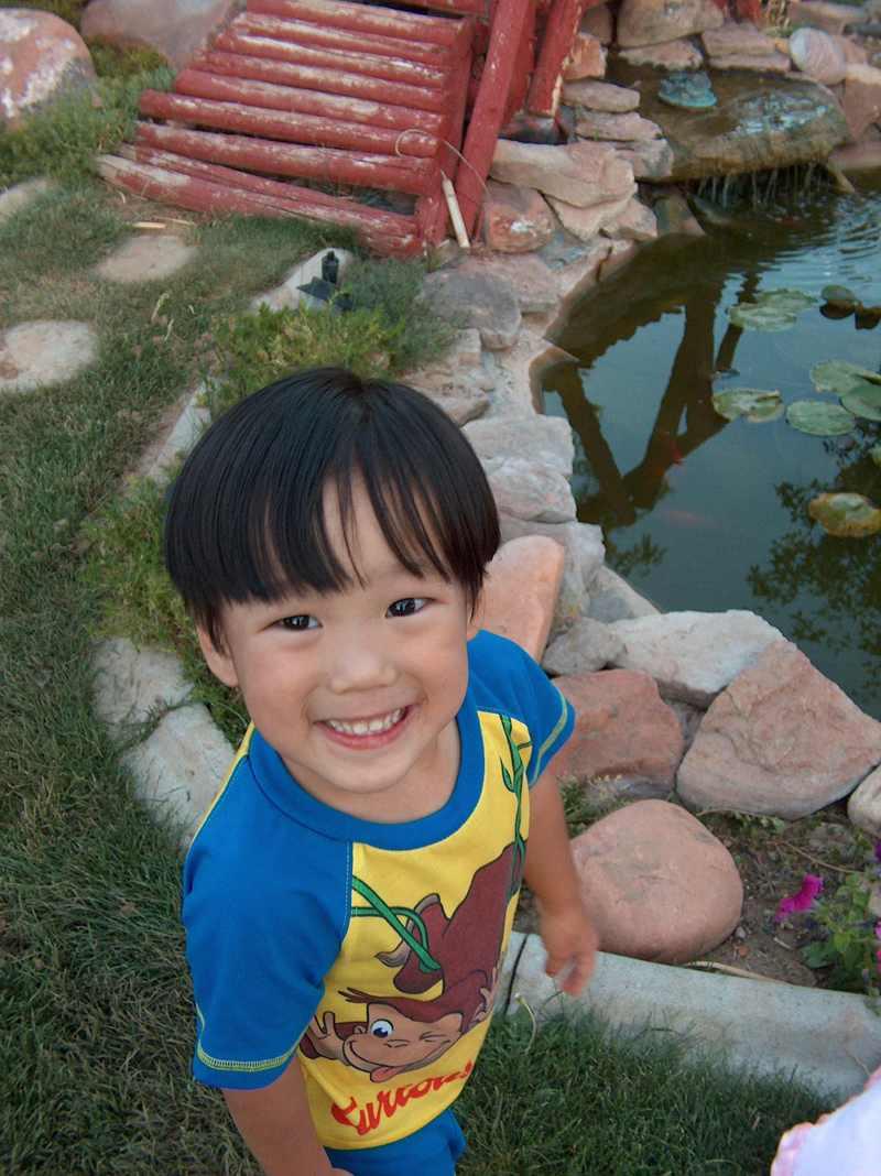 Noah_by_pond_smile_2